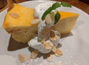 ノイカフェのチーズケーキ