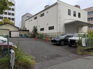 マザームーンカフェの駐車場