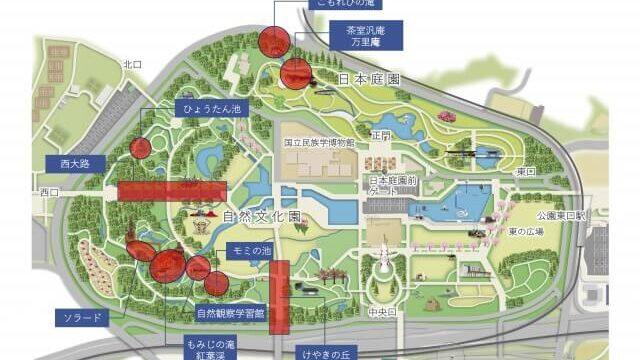 万博記念公園マップ